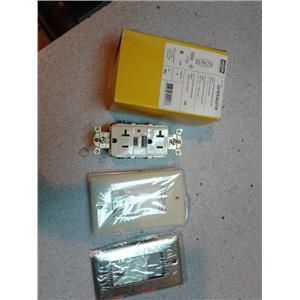 Hubbell GFR5362ITR 20A 125V Gfci Receptacle
