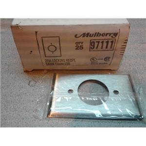 Mulberry 97111 20A Locking Receptacle