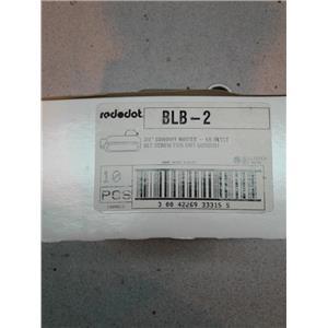 Redodot BLB-2 3/4 Conduit Bodies Lb Style