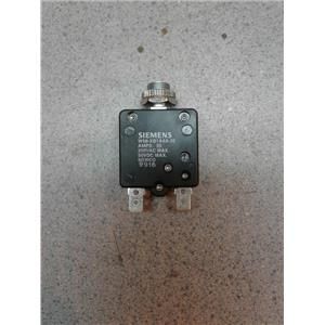 Siemns w58-xb1-a4a-35 5 35 Amp 250 Vac Reset Circuit ..
