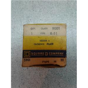 Square D K-51 Series A Closing Plate