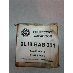 General Electric 9L18 BABA 301 Three Pole Protective Capacitor
