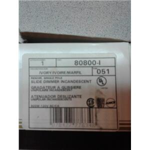 Leviton 80800-1 Slide Dimmer Switches