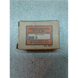 Cutler-Hammer 9586 H Thermal Overload Heater Coil