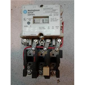 Westinghouse A200M0CAC 110/220V Motor Control