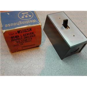 Westinghouse MST02SN Manual Starter