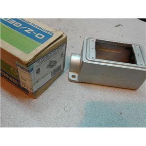 O-Z Gedney FS-1-75 Fs Style Cast Device Box, Threaded For Rigid Conduit