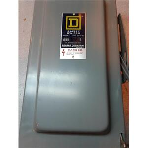 Square D HU-262 Series D2 60A 600Vac Safety Switch (3/3)