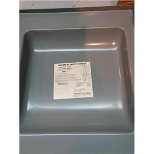 Square D 92351-F Double Throw Fusible Dt 240V 30A 3P