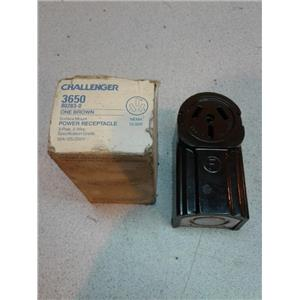 Challenger 3650 Surface Mount Power Receptacle 50A 125-250V