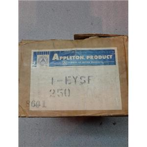 "Appleton Electric Products ESFY-100 Conduit Seal 1"" Femal Vertical"