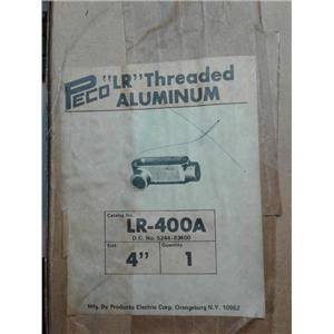 Peco LR-400A Lr Threaded Aluminum 4""