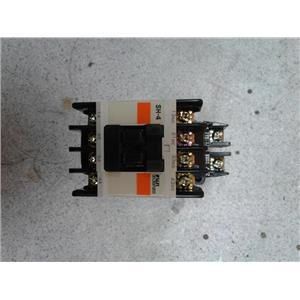 Fuji Electric 4SH431 110-120Vac Coil 10A Magnetic Contactor
