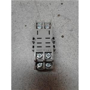 Potter & Brumfield 27E895 Socket, Relay; Screw, Din Rail Snap-Mount