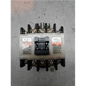 Fuji Electric SC-5-1 Magnetic Contactor
