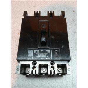 Westinghouse EB3050 50A 240Vac 3 Pole Cirvuit Breaker