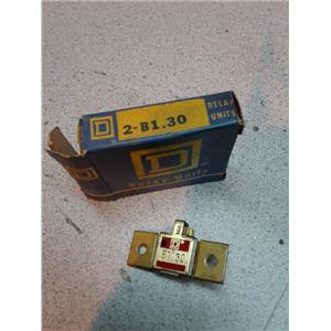 Square D B1.30 Relay Unit