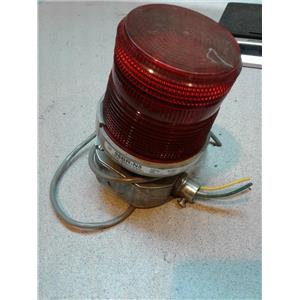 Edwards 96BR-N5 Warning Light Strobe W/ Attached Conduit