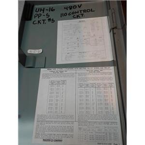 Square D 8539 SCG41 SF4T D Combination Starter