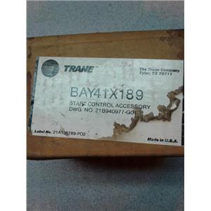 Trane BAY41X189 Start Control Accessory Nos Hvac