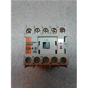 Sprecher-Schuh CA4-9 Motor Starter W/ O/L Relay