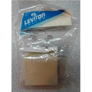 Leviton 4625A-24I Screw Terminal Surface Mount Jack, Ivory