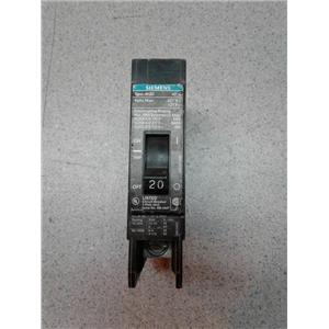 Siemens BQD120 Breaker, Bolt On, 20A, 1P, 277 Vac, 125 Vdc, Type Bqd, 14 Kaic