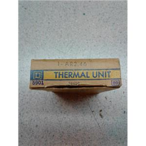 Square D AR2.46 Overload Relay Thermal Unit