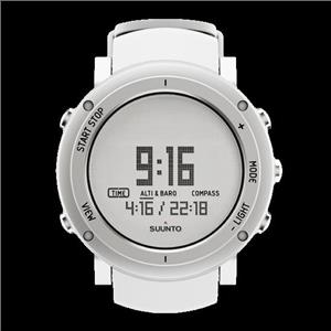 Suunto Watch Core Aluminum White SS018735000 Altimeter/Barom/Thermomter/Compass