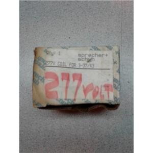Sprecher-Schuh CA3-43 277V Coil