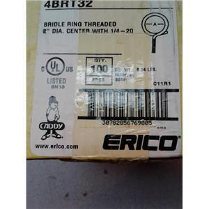"""Erico 4BRT32 2"""" Diameter Threaded Bridle Ring"""