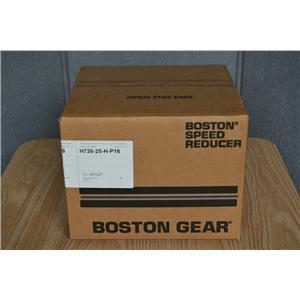 BOSTON GEAR 30:1 RATIO WORM SPEED REDUCER, H726-25H-P16