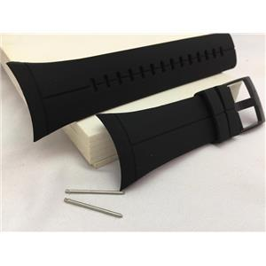 Suunto Watch Band For Model Spartan Ultra Black. Original Black Silicone Strap