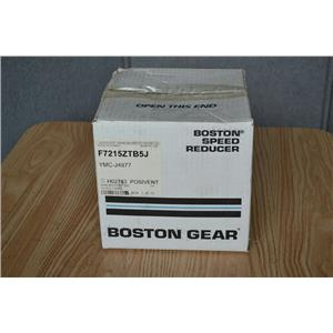 Boston Gear 15:1 Ratio Worm Gear Speed Reducer, F7215ZTB5J