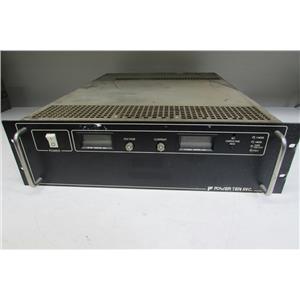 POWER TEN P63C-10660D DC POWER SUPPLY, 0-10, 0-660A
