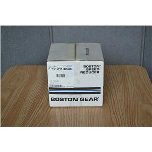 Boston Gear 10:1 Ratio Worm Gear Speed Reducer, F71010PKTB5G6