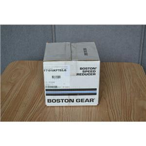 Boston Gear 10:1 Ratio Worm Gear Speed Reducer, F71010KPTB5J6