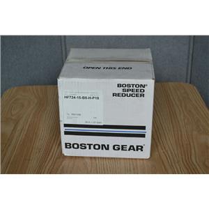 Boston Gear 15:1 Ratio Worm Gear Speed Reducer, HF724-15-B5-H-P18