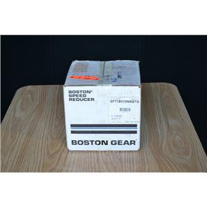 Boston Gear 10:1 Ratio Worm Gear Speed Reducer, SF718V-10NK-B7-G
