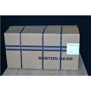 BOSTON GEAR 25:1 RATIO WORM SPEED REDUCER, QC721-25K-B5-J1-FUTFB-9