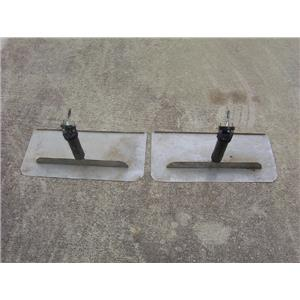 "Boaters' Resale Shop of TX 1711 0441.01 PAIR OF 24"" TRIM TABS & ACTUATORS"