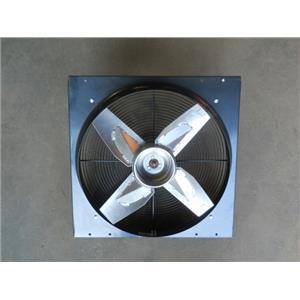 """DAYTON  Heavy Duty Direct Drive Exhaust Fan 24"""" x 24"""" 115VACV,MODEL# 4C127F"""
