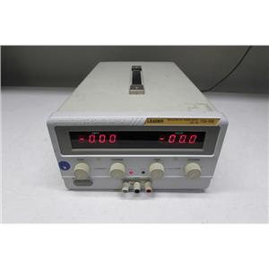 Leader 735-10D Adjustable Power Supply 0-35V/0-10A