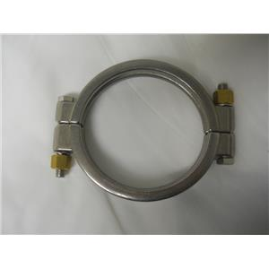 "VNE 4"" Sanitary Stainless Steel High Pressure Clamp 13MHP4.0"