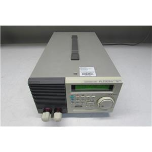 Kikusui PLZ303W 300 Watt Electronic Load 10V and 60A, Just calibrated