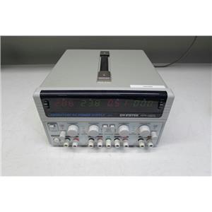 Instek-GW GPD-4303 Laboratory DC Power Supply, 4 Ch