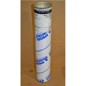 Inconel Welding Electrode 152, 10lbs, Dia. 0.125 in, Length 14 in ENiCrFe-7