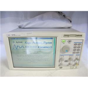 Agilent HP 16702B Logic Analyzerw/ 16711A, 16557D Modules