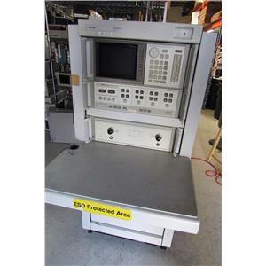 Agilent HP 8510C Network Analyzer w/ 8517B + 83651B, 50 GHz w/ rack