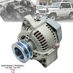 24V 30A Alternator For Toyota Land Cruiser HZJ70 71 73 75 78 79 PZJ70 1HZ 1PZ